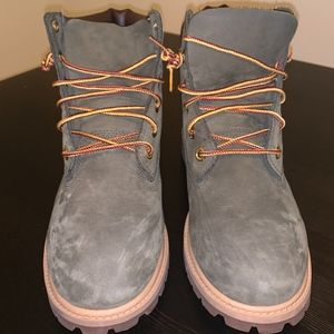Timberland Army Green Boots